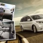 2013 Toyota Sienna adds new standard amenities