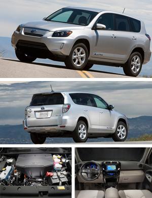 The All Electric 2012 Toyota Rav4 Ev First Drive